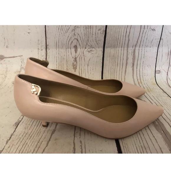 ae46e54caa2318 Tory Burch Elizabeth 30mm kitten heel pumps size 8.  M 5c7201e29539f756e27269af